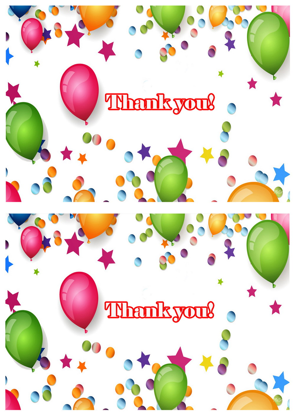 Click Image To Find More Men S Fashion: Balloons Thank You Cards