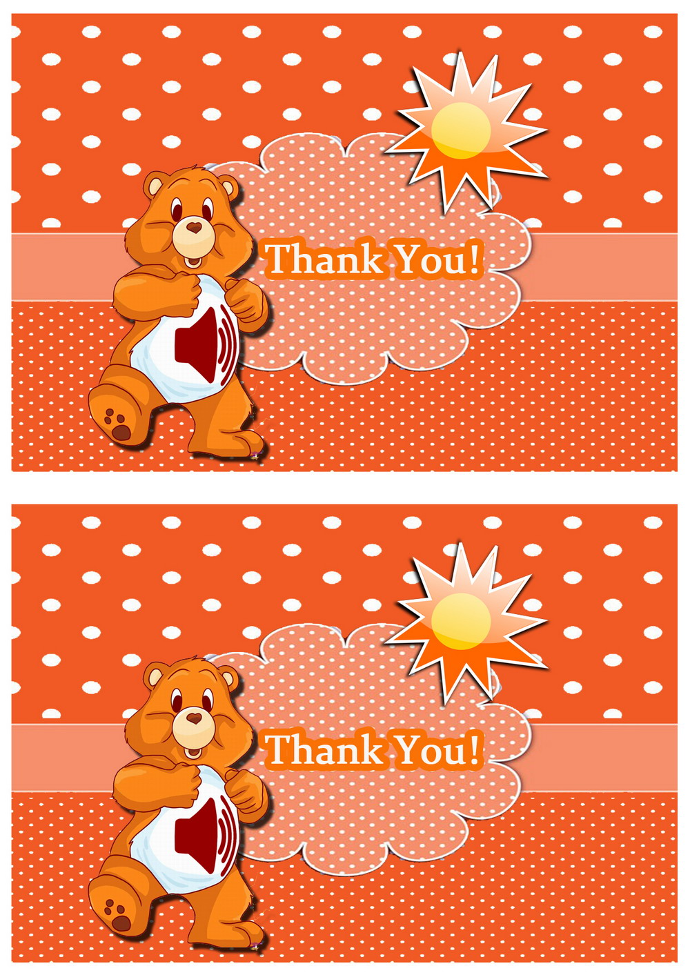 Click Image To Find More Men S Fashion: Care Bears Thank You Cards