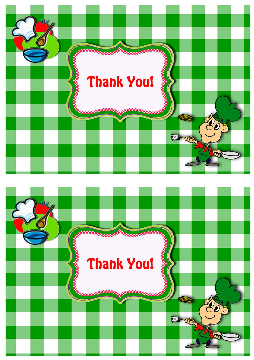 Click Image To Find More Men S Fashion: Cooking And Baking Thank You Cards