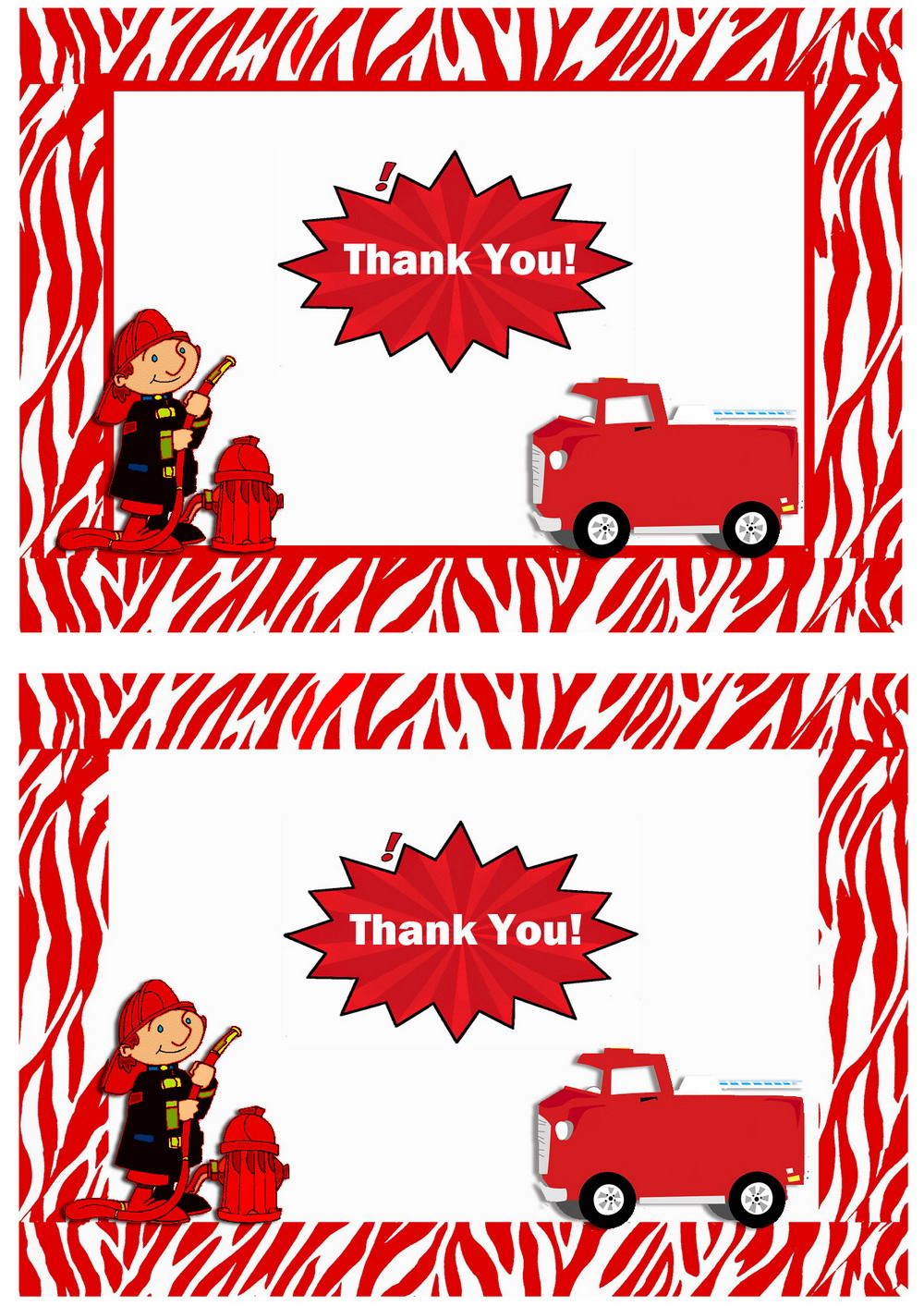 Click Image To Find More Men S Fashion: Firefighters Thank You Cards