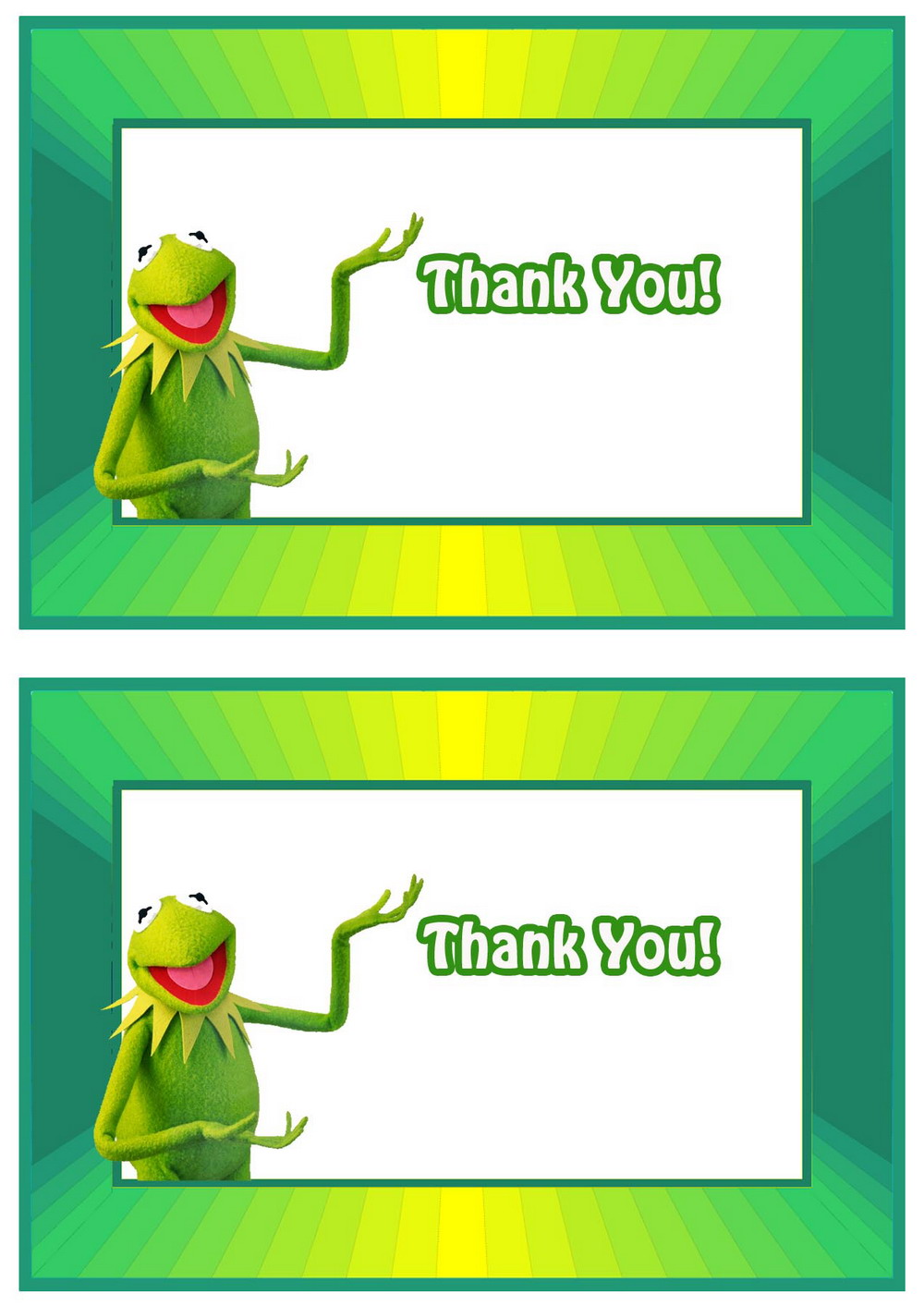 Click Image To Find More Men S Fashion: Muppets Thank You Cards