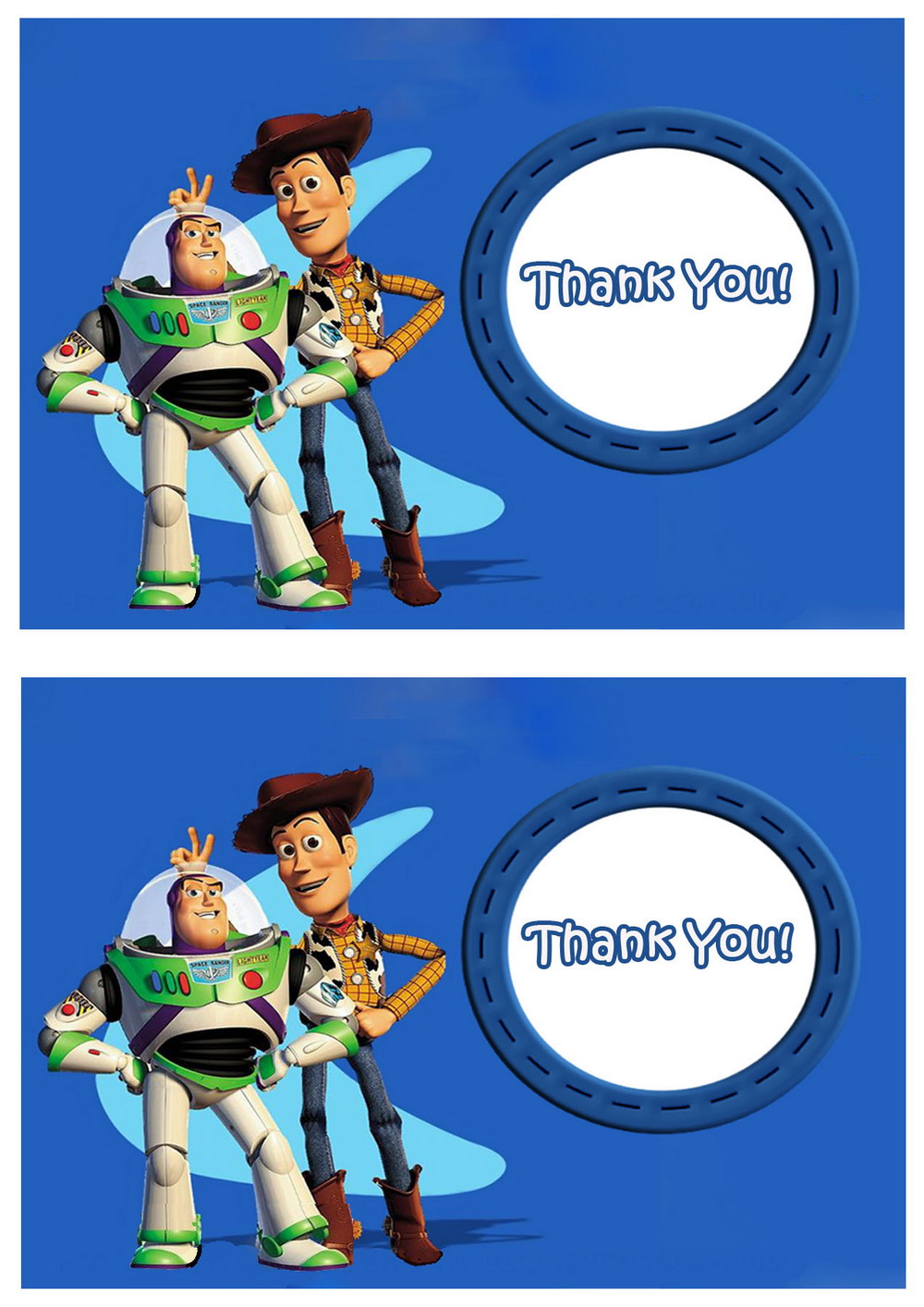 Click Image To Find More Men S Fashion: Toy Story Thank You Cards
