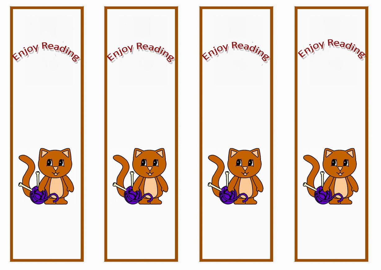 Animals Bookmarks – Birthday Printable