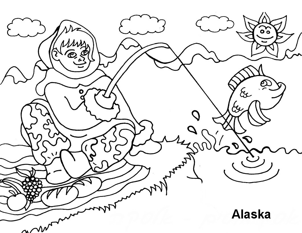 people around the world coloring pages