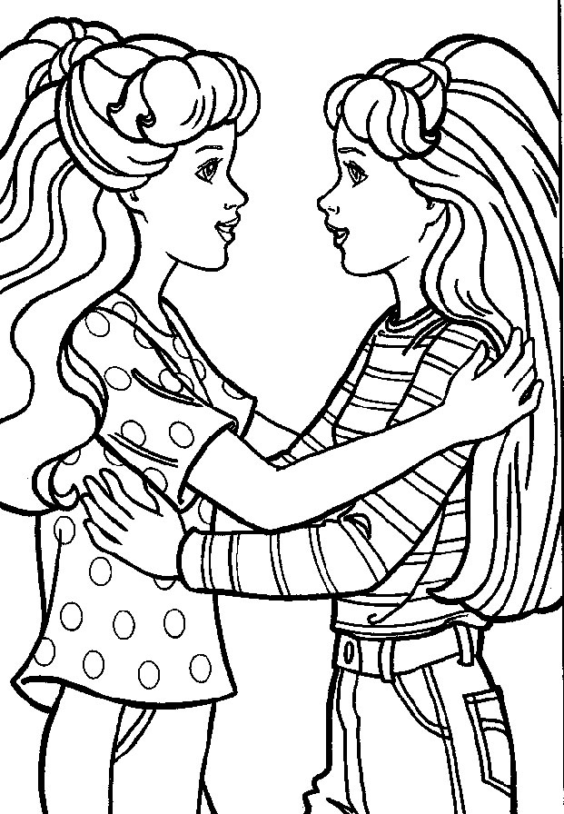 Barbie Coloring Pages – Birthday Printable
