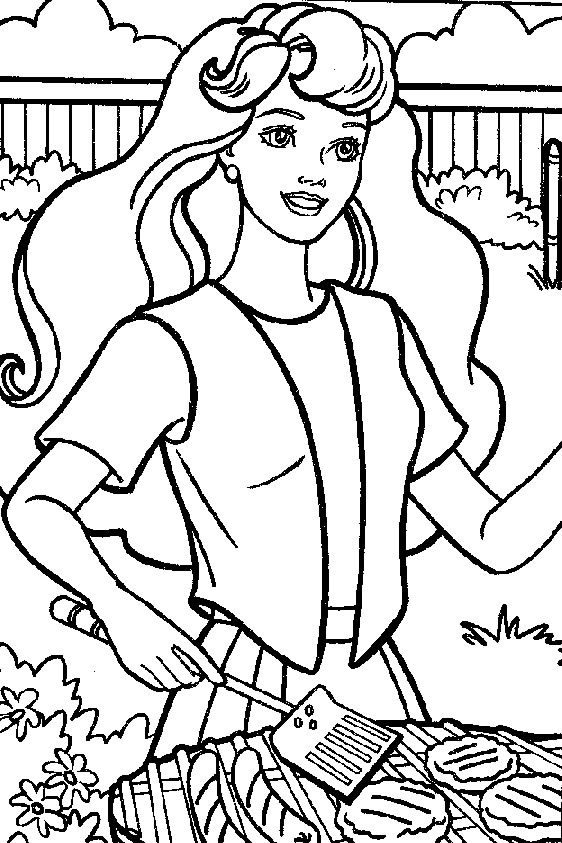 Barbie Coloring Pages | Birthday Printable