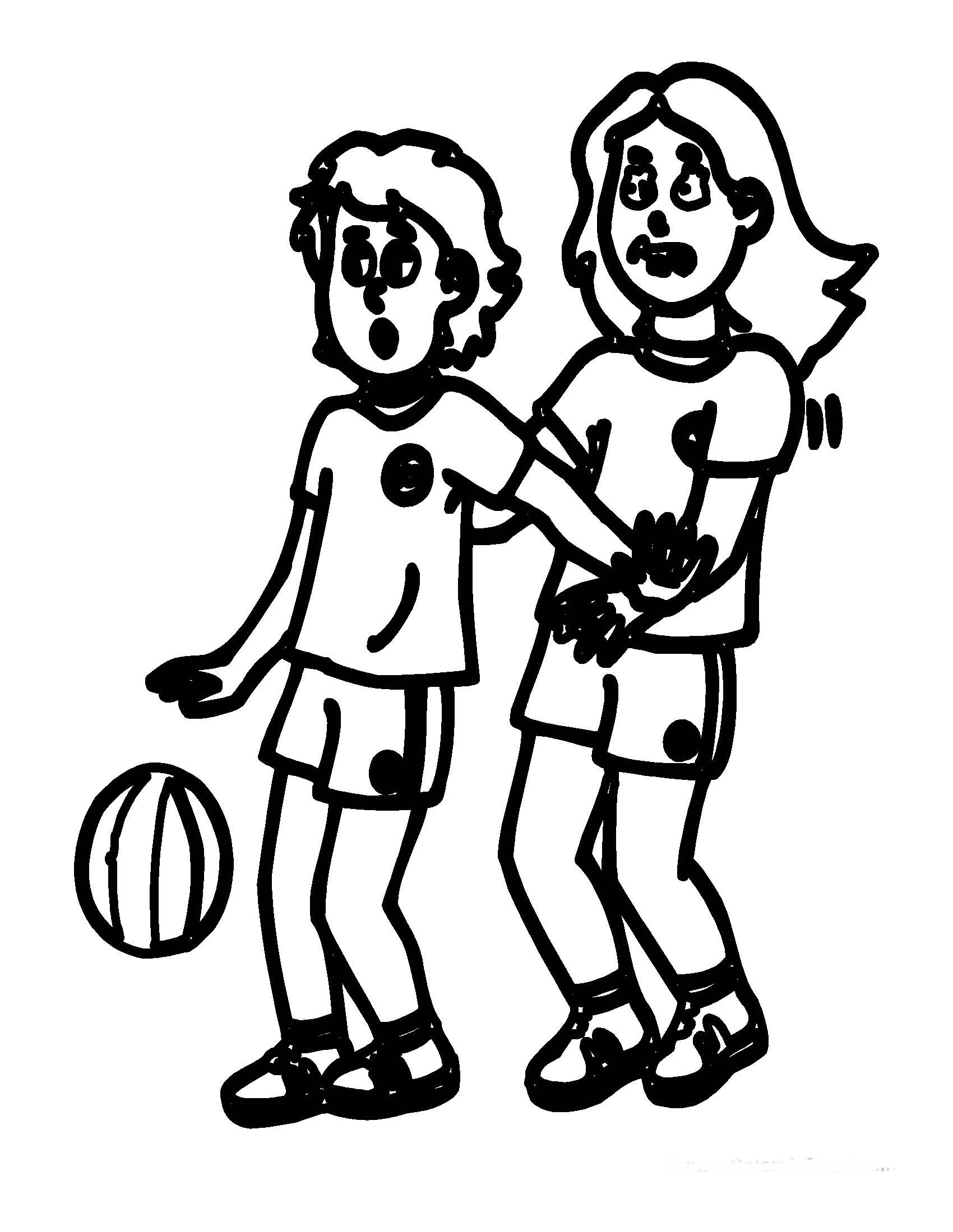 Basketball Coloring Pages Birthday