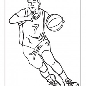 Real Basketball Coloring Pages. Basketball Free Printable Coloring Pages  Birthday