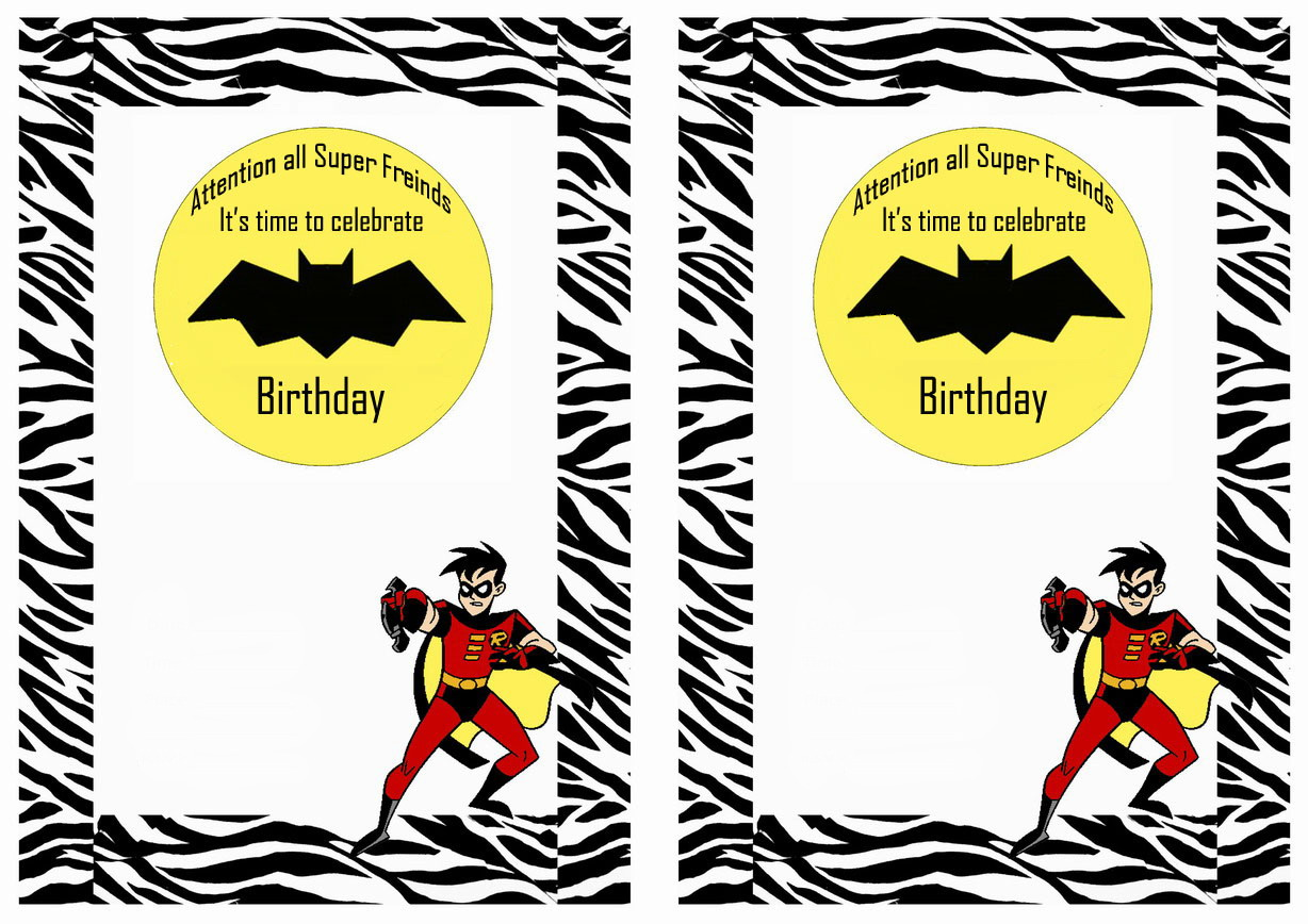 Sassy image intended for batman printable birthday card