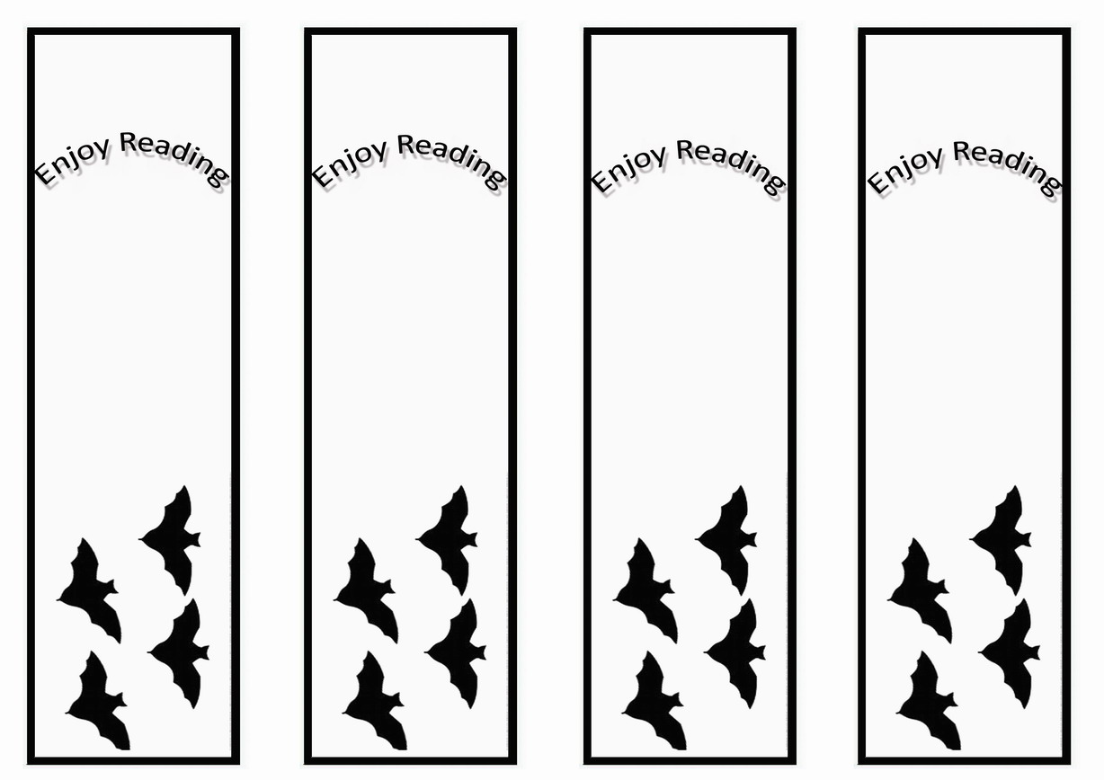 Batman Bookmarks Birthday Printable