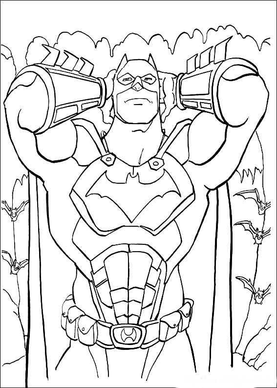 big batman coloring pages - photo#39