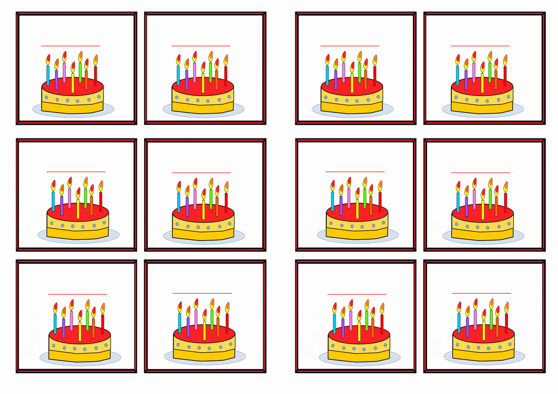 birthday name tags birthday printable