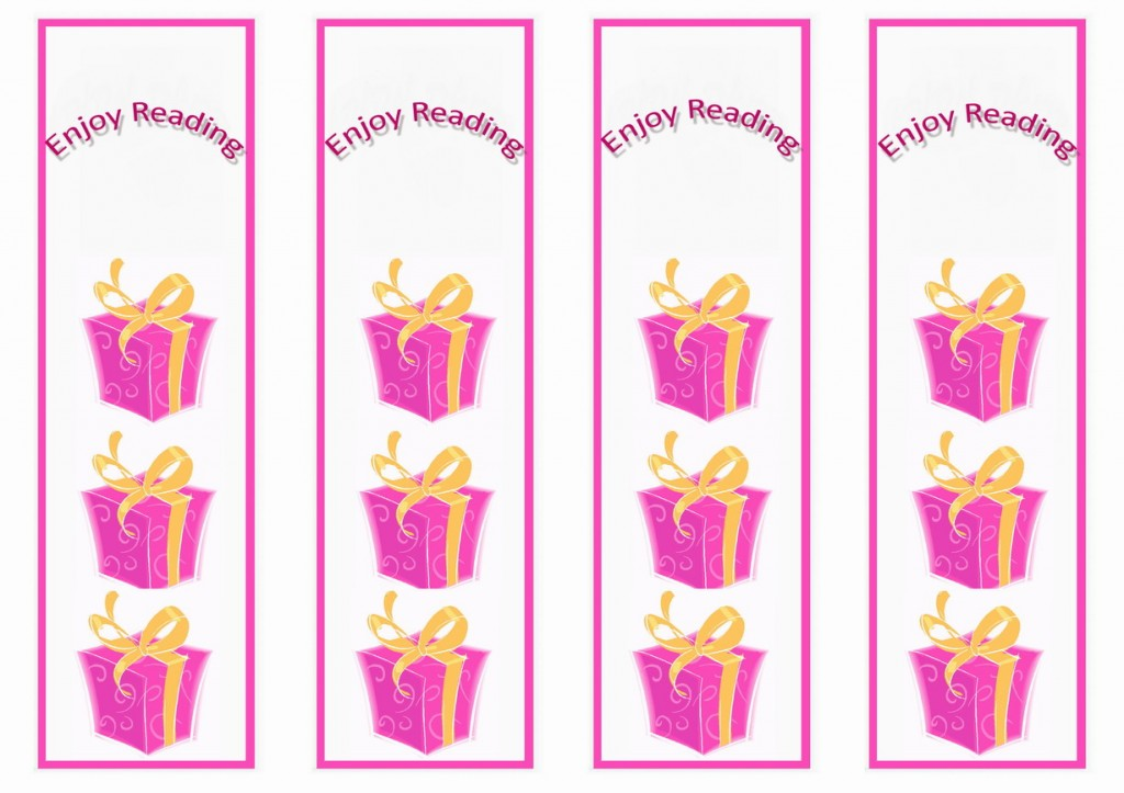 Birthday Bookmarks Birthday Printable