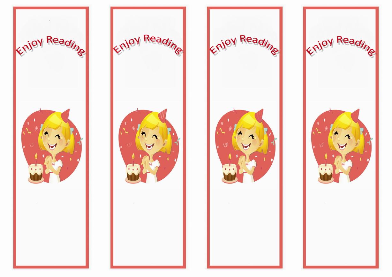 Birthday Bookmarks Birthday Printable