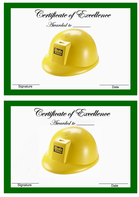 bob the builder awards