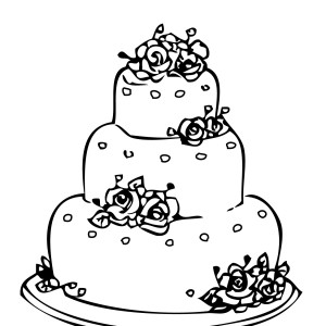 Camping Coloring Page Cake Ideas And Designs