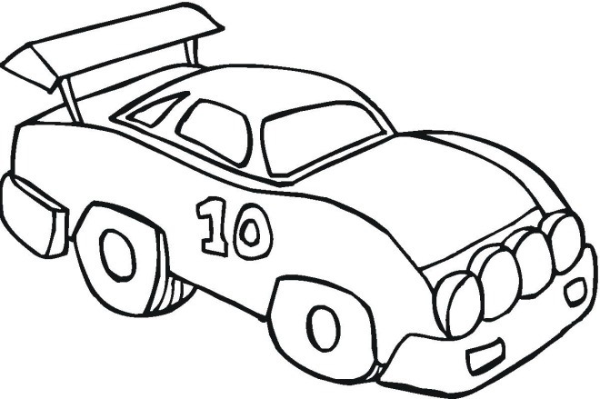 cars coloring pages birthday printable on coloring pages of toy cars