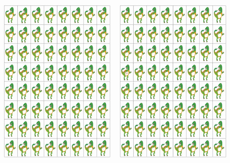 Dinosaur Stickers – Birthday Printable