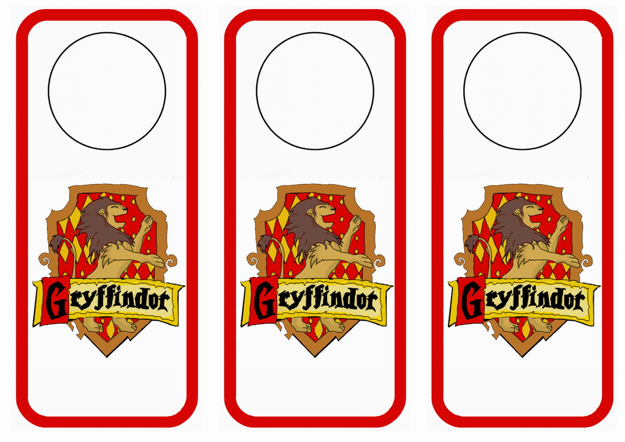 Harry Potter Doorhangers – Birthday Printable