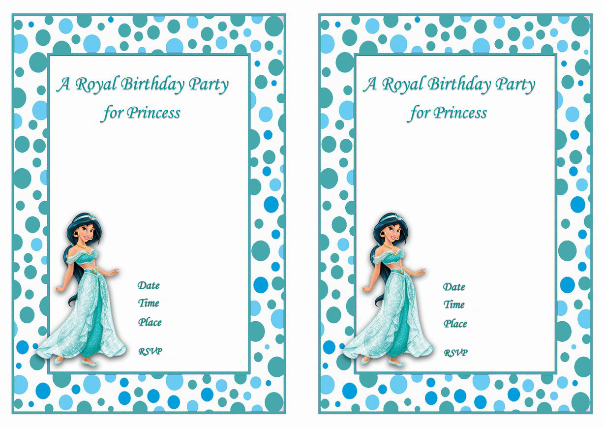 princess jasmine birthday invitations birthday printable princess jasmine birthday invitations