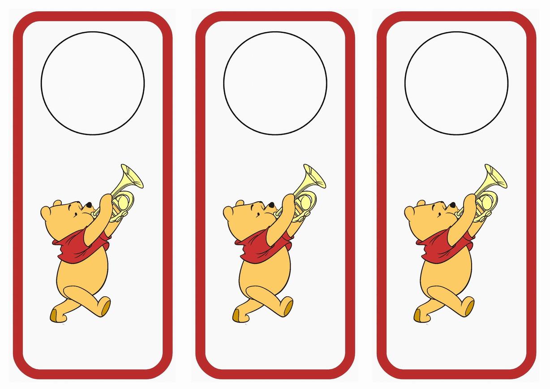 Uncategorized Winnie The Pooh Printable winnie the pooh door hangers birthday printable hangers