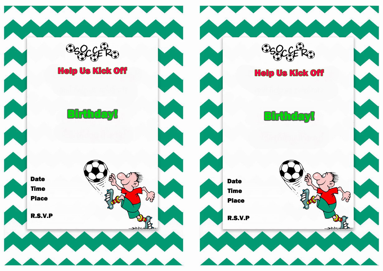 soccer birthday invitations net soccer birthday invitations birthday printable birthday invitations