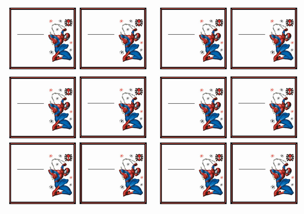 1000 Images About Spiderman Printables On Pinterest