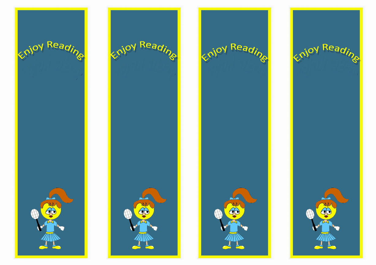 Sports Bookmarks Birthday Printable