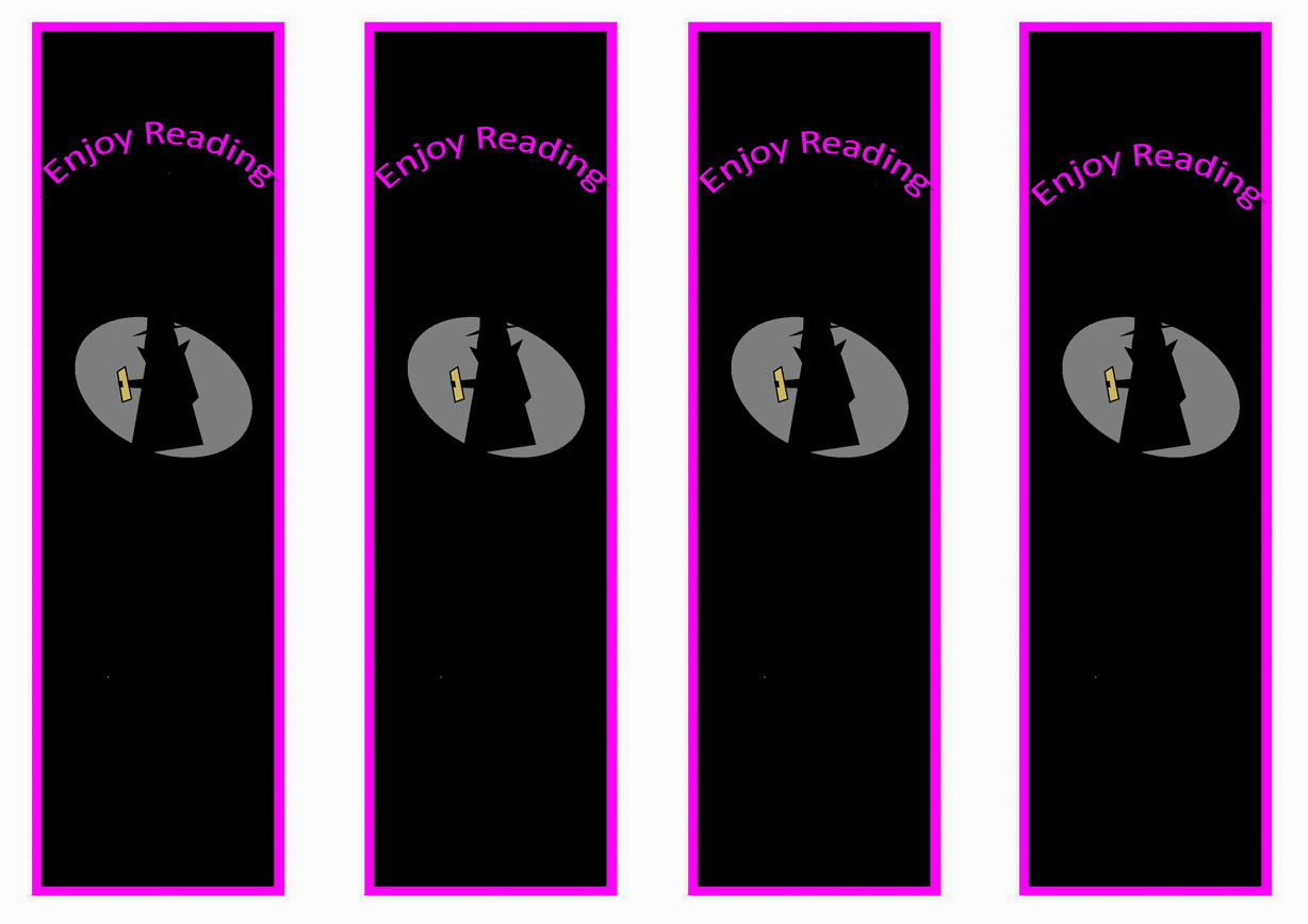 Spy Bookmarks Birthday Printable