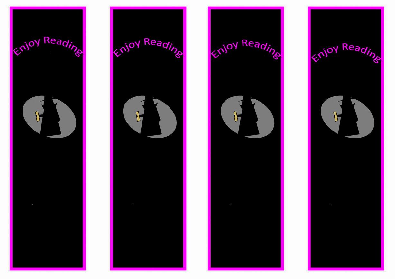 Spy Bookmarks Birthday Printable