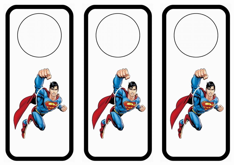 Superman Door Hangers