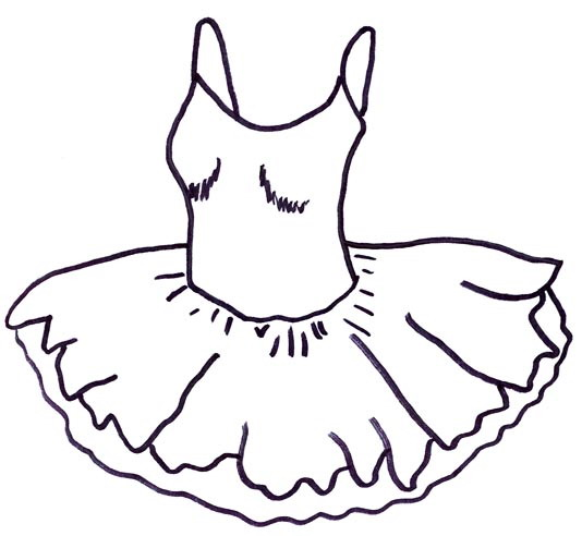 coloring pages tutu - photo#16
