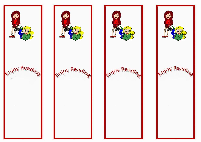 bratz bookmarks u2013 birthday printable
