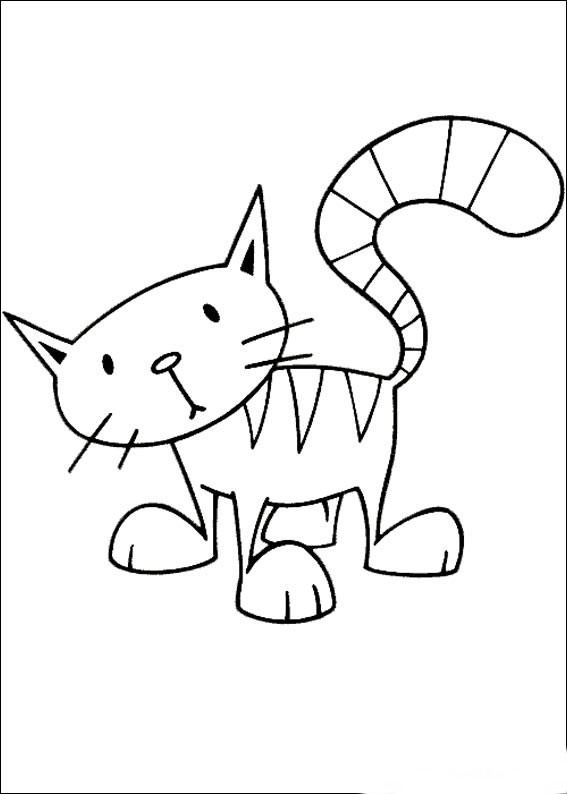 Cat Lovers Coloring Pages  Birthday Printable