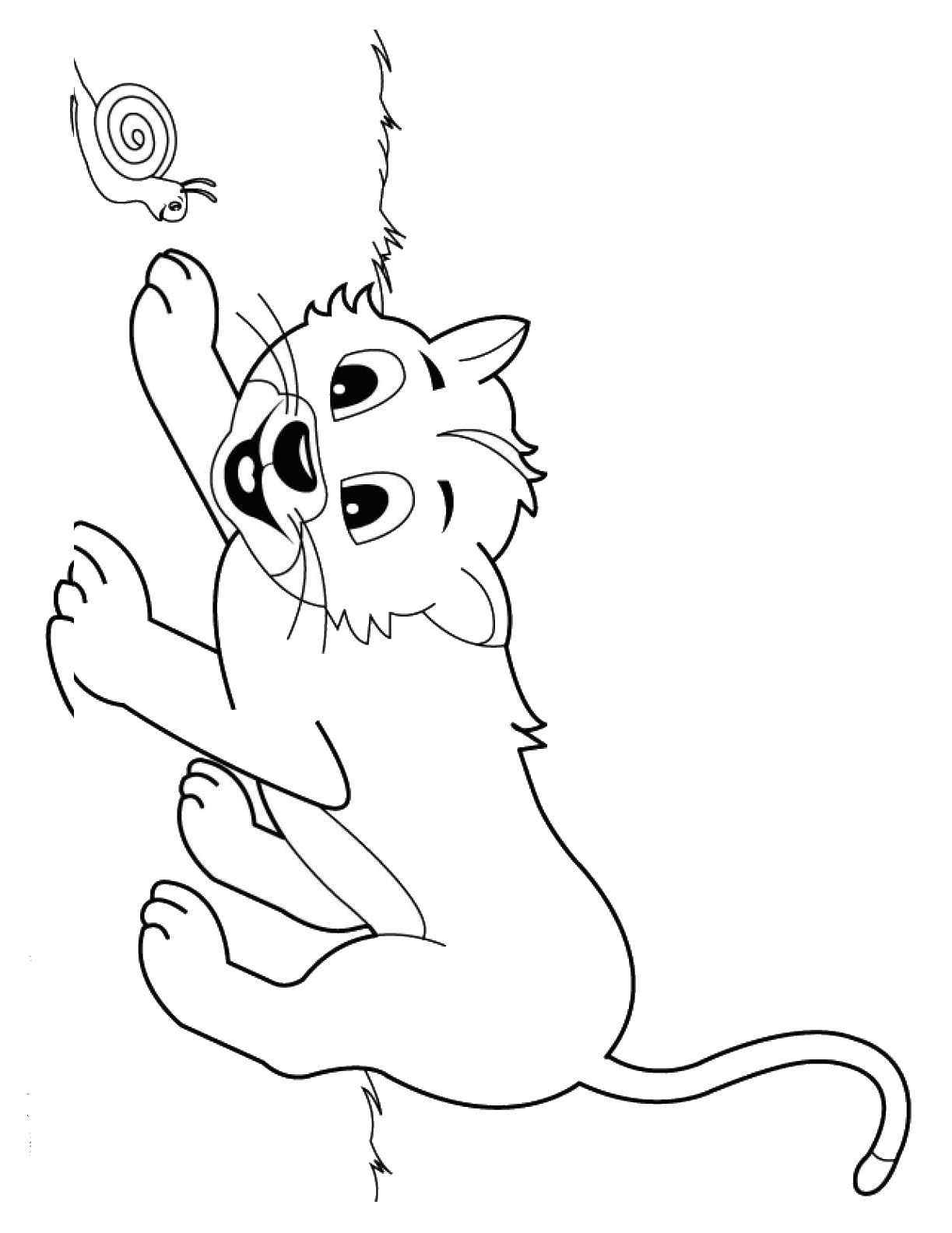 cat birthday coloring pages - photo#31