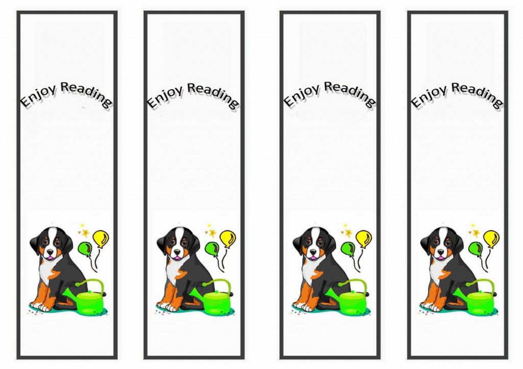 Dog Lovers Bookmarks Birthday