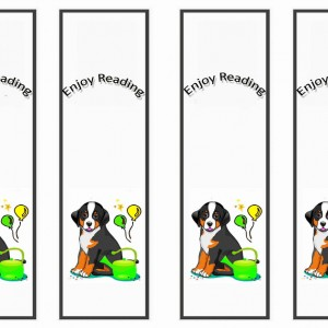 Dog Lovers Bookmarks Birthday
