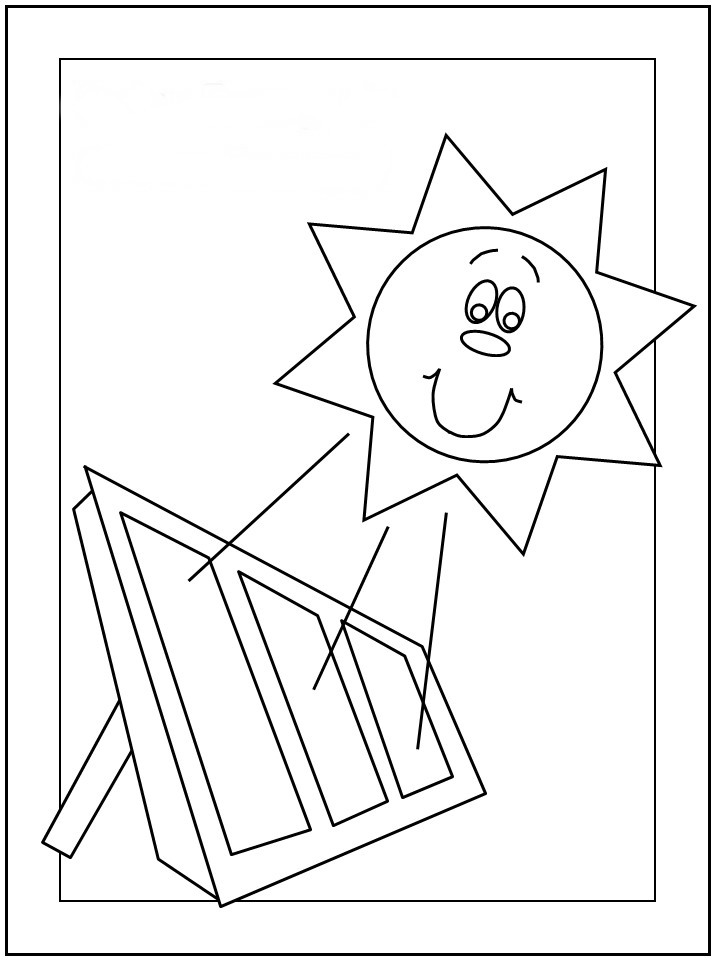 Eco Friendly Coloring Pages Birthday
