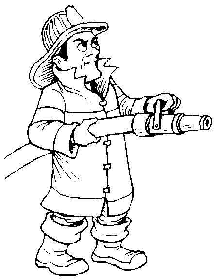firefighters coloring pages birthday printable