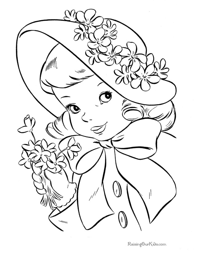tea party coloring pages birthday printable - Princess Tea Party Coloring Pages