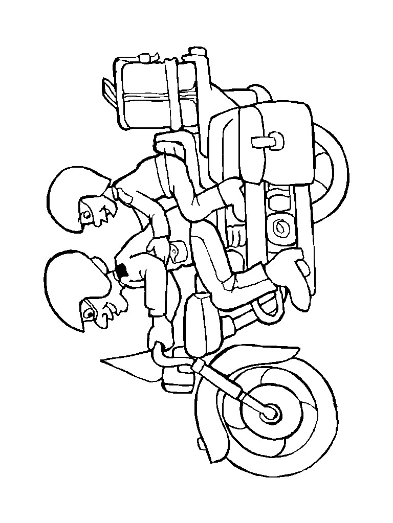 Transportation Coloring Pages | Birthday Printable