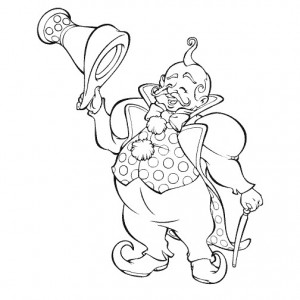 Wizard Of Oz Printable Coloring Pages