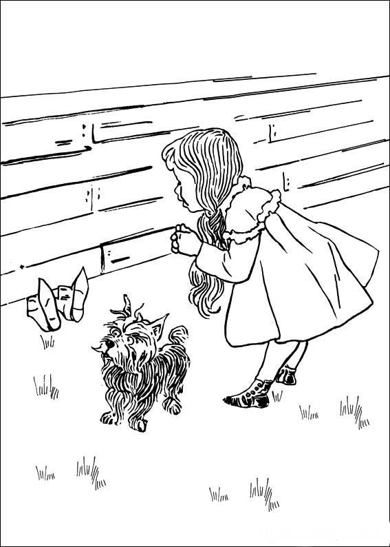 wizard of oz outline