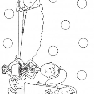 sleepover coloring pages to print   Sleepover Coloring Pages   Birthday Printable