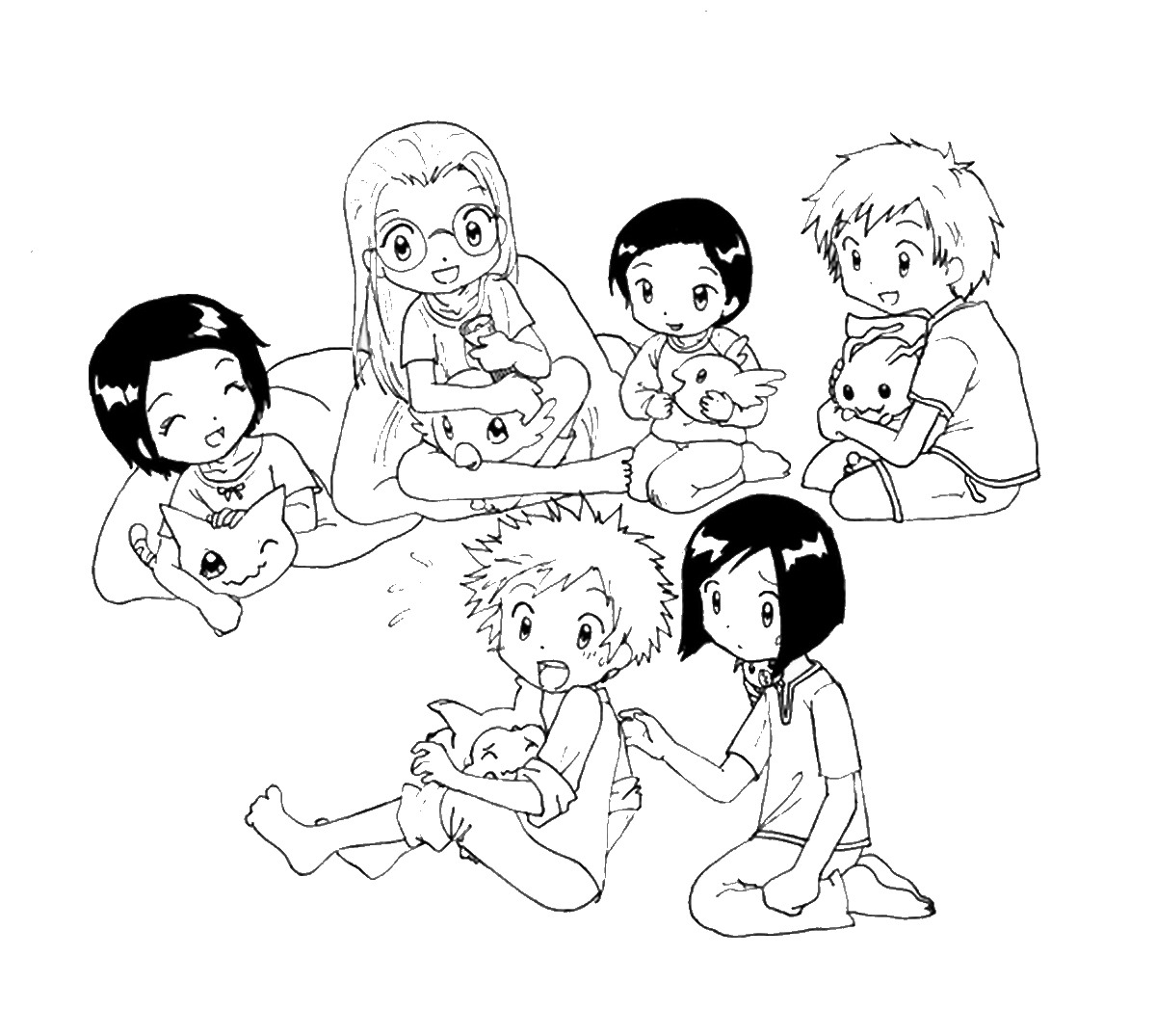 Sleepover Coloring Pages Birthday