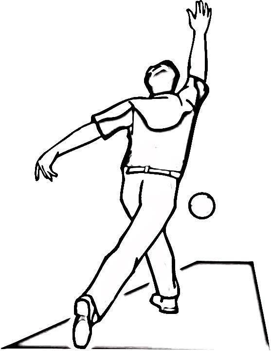 Bowling Coloring Pages Birthday Printable