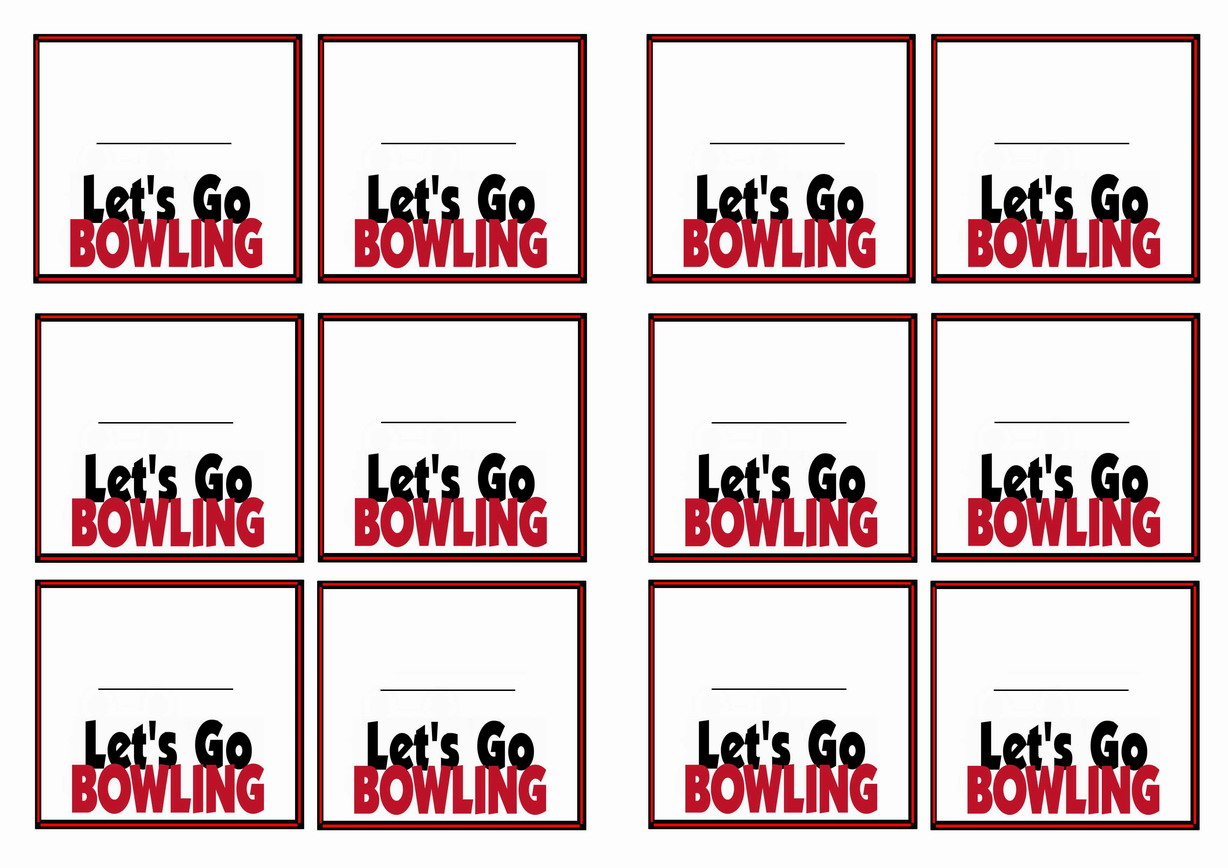 bowling name tags