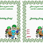 Hockey Birthday Invitations
