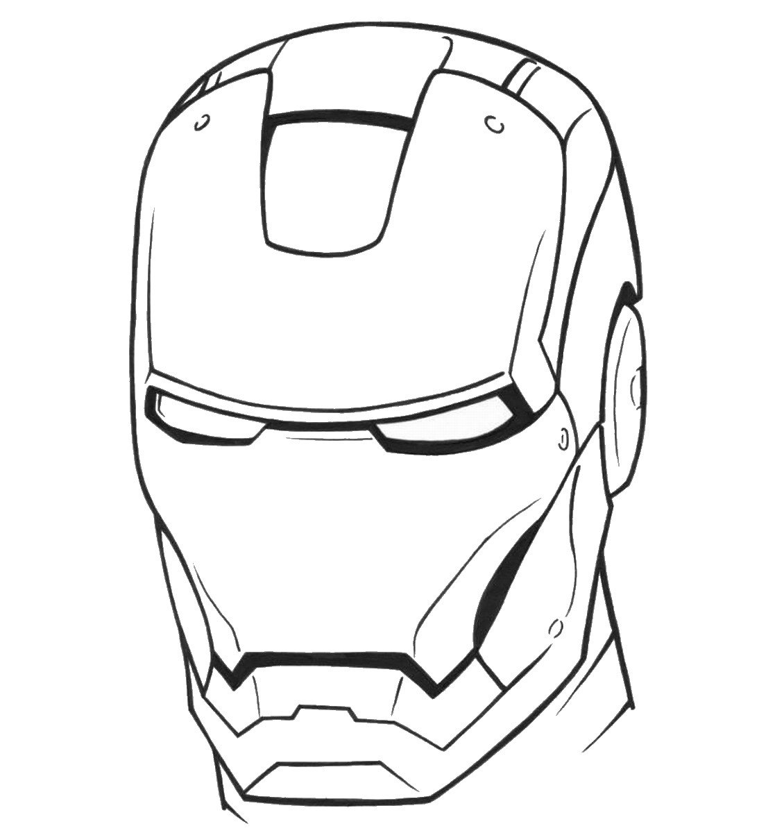 Iron man coloring pages birthday printable for Coloring pages man
