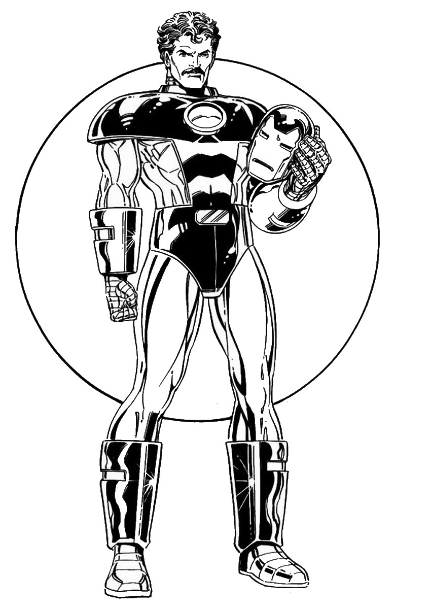 100 iron man coloring page get this printable ironman